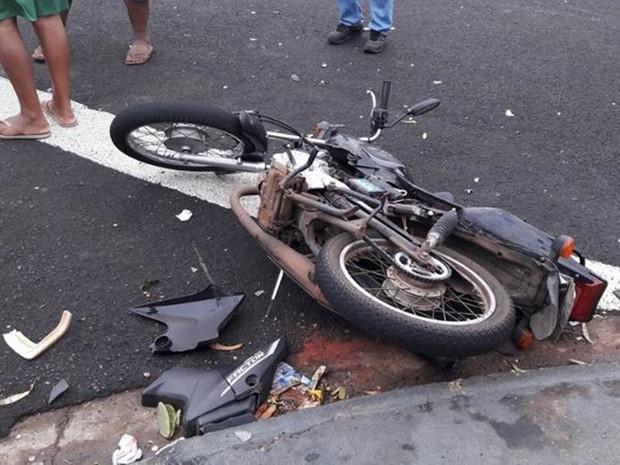 Acidente aconteceu no cruzamento das ruas José Bruno Matiazzo com a rua Joaquim Serafim da Silva (Foto: Jociano Garofolo/ACidade)