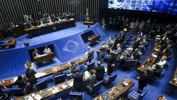 Senado faz sessão para eleger comissão do impeachment (Foto: Marcelo Camargo/Agência Brasil)