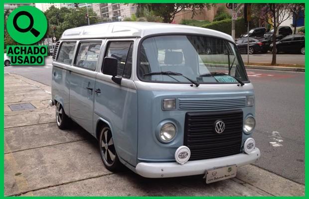 Achado usado: VW Kombi Last Edition turbo
