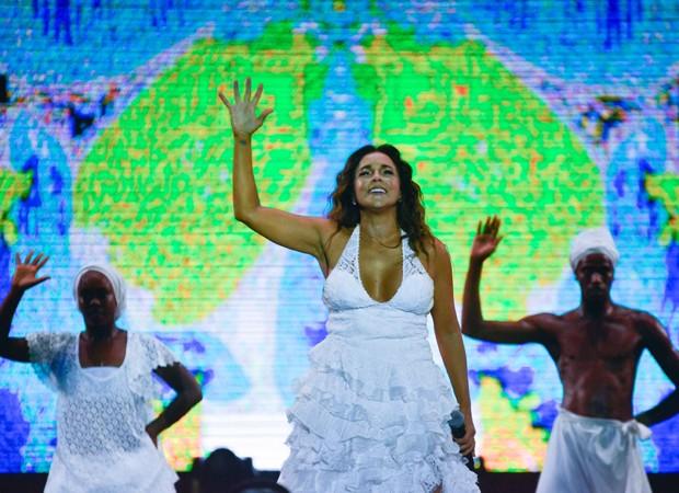 Daniela Mercury (Foto: André Muzell/Brazil News)