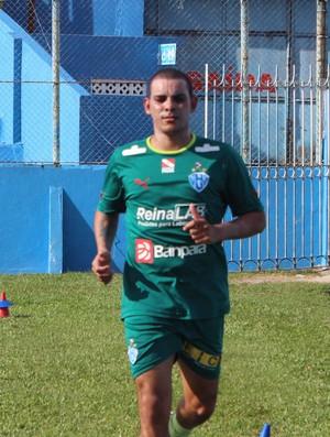 Gilton retorna ao Papão e pode jogar diante do Figueirense (Foto: Ascom/Paysandu)