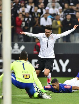 Marquinhos Gabriel Corinthians x Cruzeiro (Foto: Marcos Riboli)