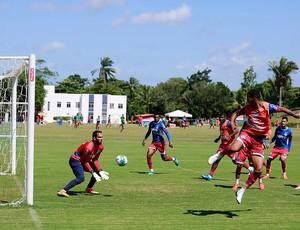 Elenco do Bahia treina no Fazendão (Foto: Felipe Oliveira / divulgação / EC Bahia)