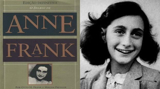O livro relata os acontecimentos vividos pela jovem judia Anne Frank durante o nazismo (Foto: Divulgao)