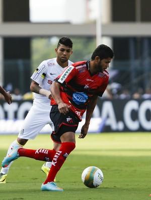 Jackson Caucaia na primeira partida contra o Santos da final do Campeonato Paulista (Foto: Miguel Schincariol/Ituano FC)