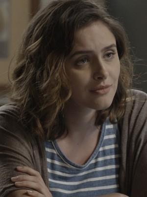 A atriz revela que ainda está conhecendo o nono momento da personagem (Foto: TV Globo)