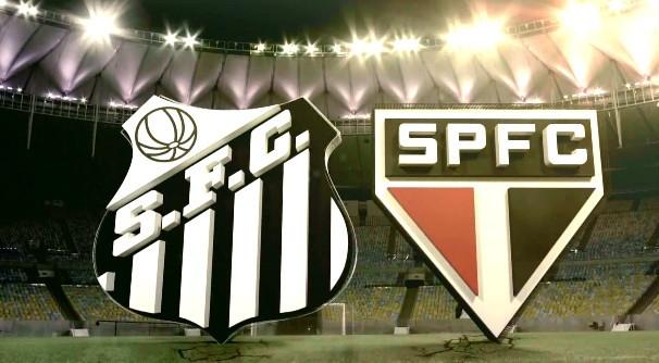 Jogo entre Santos e São Paulo será na Vila Belmiro (Foto: Reprodução/TV Tribuna)