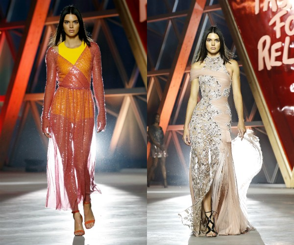 Kendall Jenner no Fashion for Relief (Foto: Getty Images)