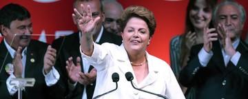 Dilma nega divisão do país e se diz  'disposta ao diálogo' (Ueslei Marcelino/Reuters)
