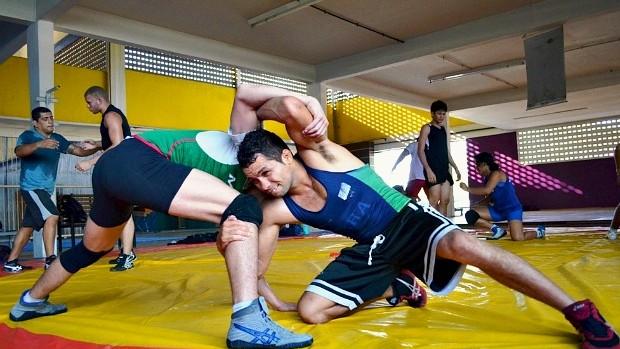 Waldeci Silva, luta olímpica (Foto: Emanuel Mendes Siqueira/Sejel)