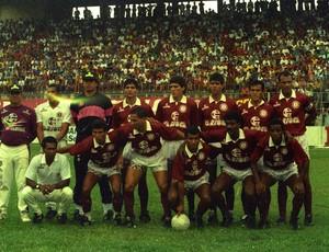 Time da Desportiva Ferroviária Campeão Capixaba de 1992 (Foto: Gildo Loyola)