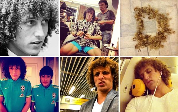 David Luiz - cabelo - Boleirama (Foto: Reprodução / Instagram)