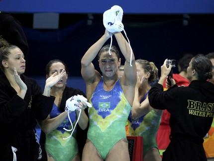 Marina Zablith Brasil polo aquático (Foto: Reuters)
