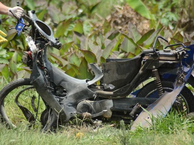 Acidente com morte; Capão da Canoa; RS (Foto: Rodrigo Ziebell/Brigada Militar)