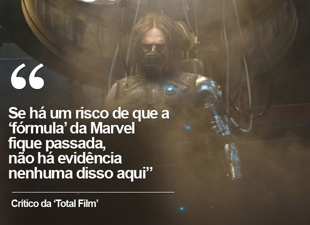 crítica da 'Total Film' a 'Capitão América: Guerra civil' (Foto: G1)