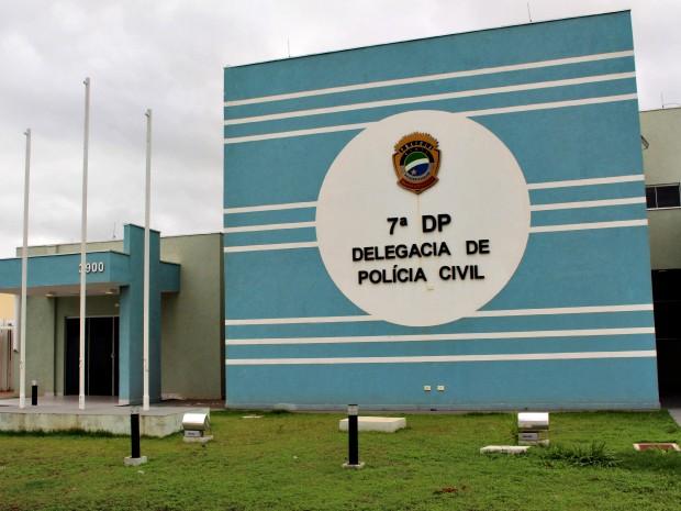 Delegacia (Foto: Gabriela Pavão/ G1 MS)