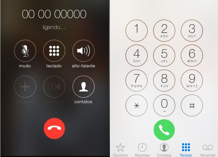 Comparativo iOS 7.1 (Foto: Laura Rezende /TechTudo)