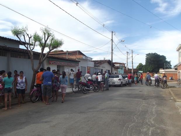 vizinhos (Foto: Ana Carolina Caldeira/G1 )
