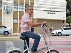Prefeito eleito em Colatina disse que vai de bicicleta para a posse