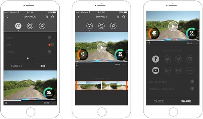 Aplicativo permite edição ágil e compartilhamento fácil dos melhores momentos de uma viagem (Foto: Divulgação/Waylens)