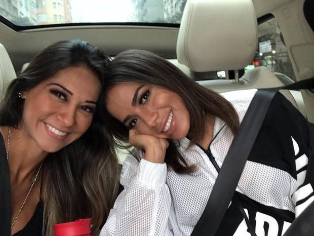 Mayra Cardi e Anitta (Foto: Instagram / Reprodução)