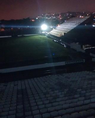 Arena Botafogo iluminação (Foto: Divulgação / Botafogo)