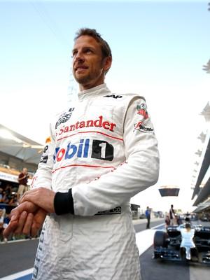 Jenson Button em Abu Dhabi (Foto: Getty Images)