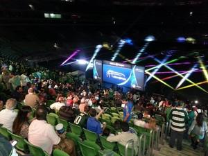 Evento na Arena Palmeiras, o Allianz Parque (Foto: Felipe Zito)