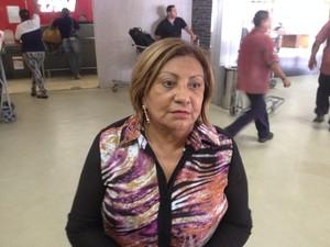 Pastora diz que não teve respostas sobre novo embarque (Foto: John Pacheco/G1)