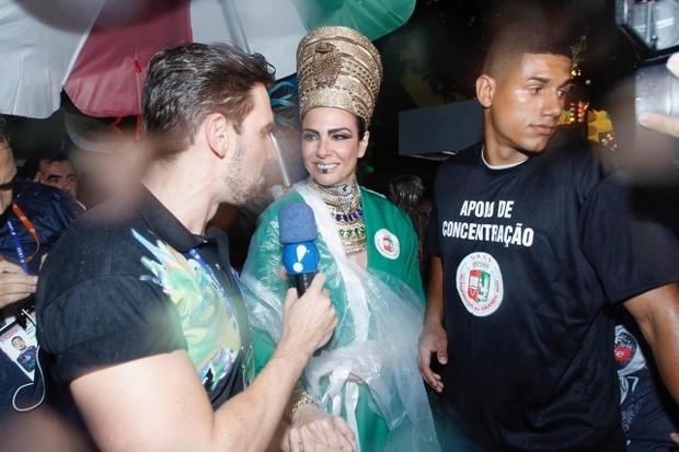 A apresentadora Luciana Gimenez, que vai desfilar pela Grande Rio (Foto: AgNews)