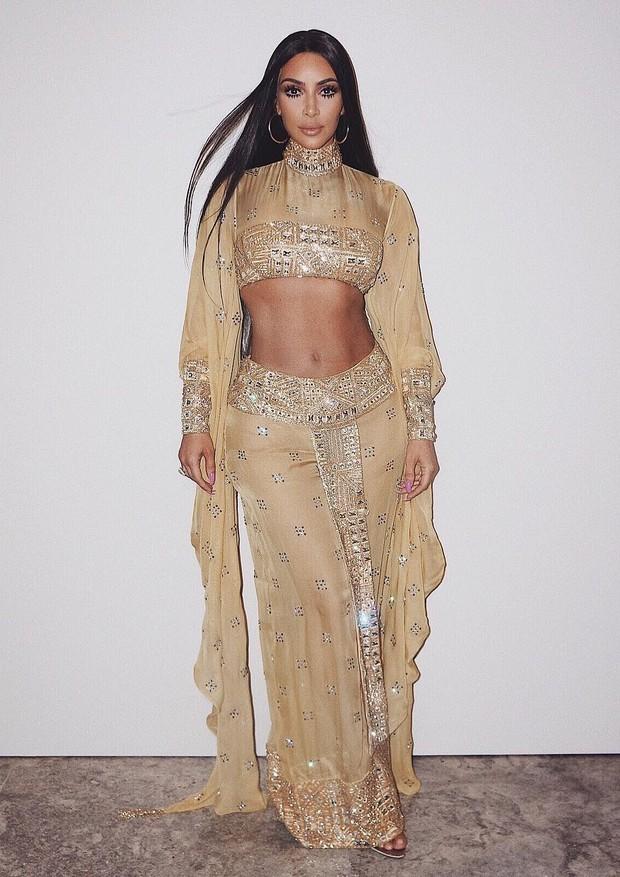 Kim Kardashian, de Maison Alexandrine (Foto: Reprodução/Instagram)