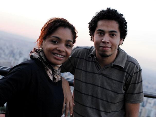 Eva e Romario Regis viajaram pelo Brasil para registrar boas histórias de pessoas que passaram pelo Criança Esperança (Foto: Divulgação/Saulo Frauches)