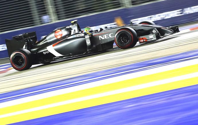 Esteban Gutierrez, Formula 1 Cingapura (Foto: Agência EFE)