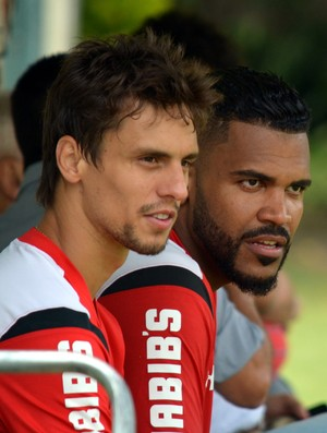 Rodrigo Caio e Breno São Paulo (Foto: Erico Leonan / site oficial do SPFC)