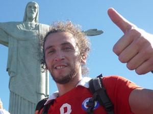 O chileno Richard Diaz (Foto: Richard Diaz/Arquivo pessoal)