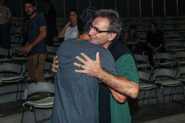 Eduardo Moscovis e Herson Capri (Foto: Manuela Scarpa/Brazil News)