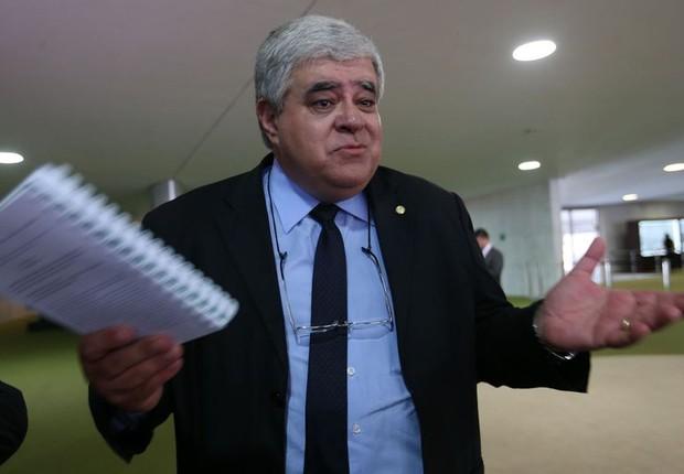 O deputado federal Carlos Marun (PMDB-MS) (Foto: Fabio Rodrigues Pozzebom/Agência Brasil)