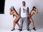 Mr Catra vira modelo de grife e fotografa com mulheres sem roupa