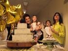 Pai de duas meninas e casado, Daniel conta como é viver rodeado de mulheres