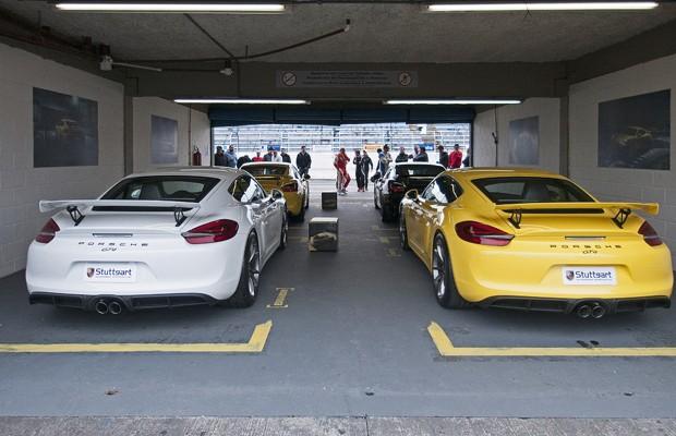 Porsche Cayman GT4 (Foto: Divulgação)