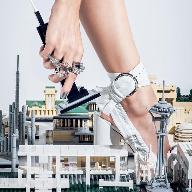A coleção de Lilly Sarti com Mario Pantalena (Foto: Fred Othero/Arquivo Vogue)