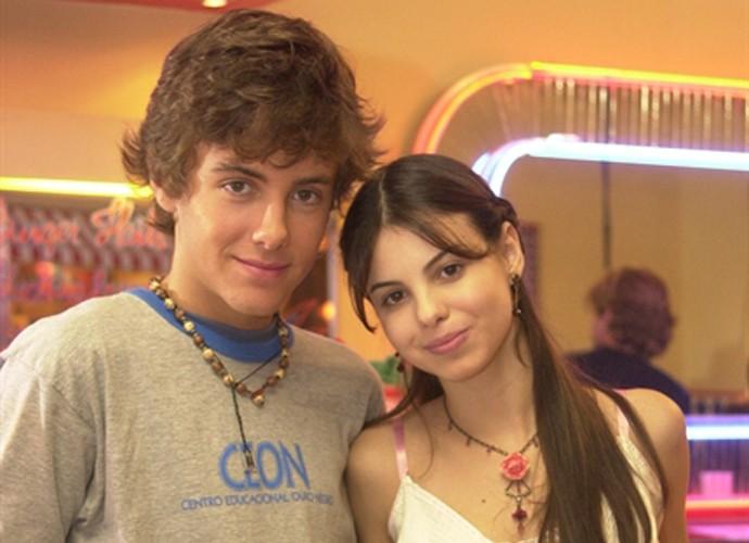 Kayky e Sthefany também foram irmãos em Começar de Novo (Foto: João Miguel Júnior /  TV Globo)