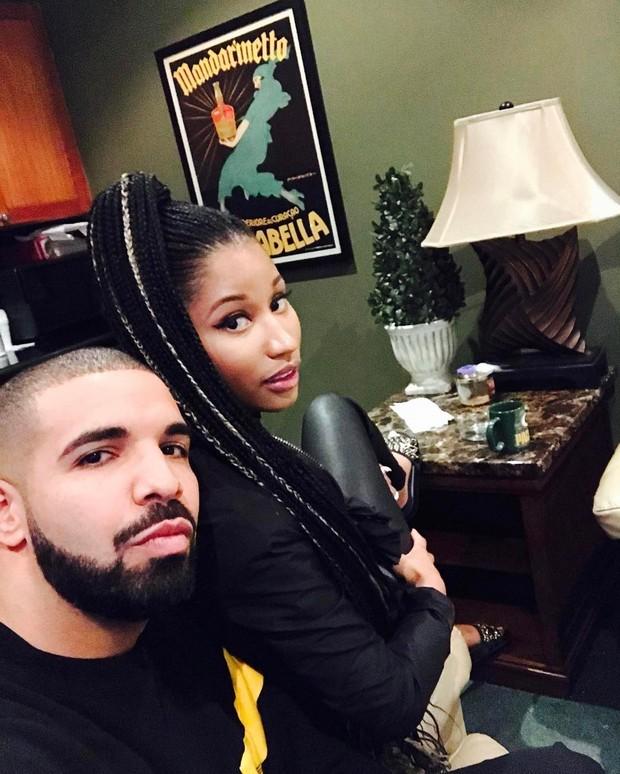 Drake e Nicki Minaj  (Foto: Reprodução/Instagram)