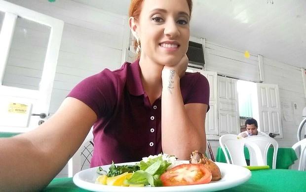 Karina Quadros mudou a dieta para encarar o 'Eu Triatleta ' (Foto: Karina Quadros/Arquivo Pessoal)