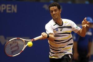 André Sá tênis Itajaí (Foto: William Lucas/Inovafoto)
