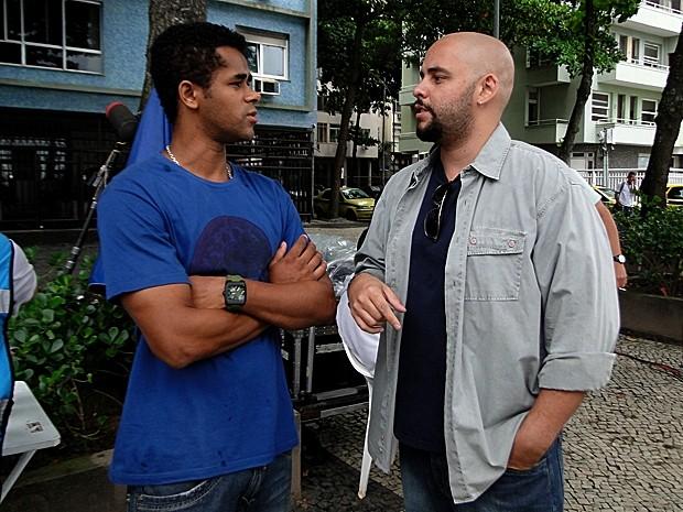 Alemão e Caixote  (Foto: Malhação / TV Globo)