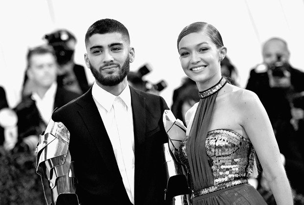 Zayn Malik e Gigi Hadid (Foto: Getty Images)