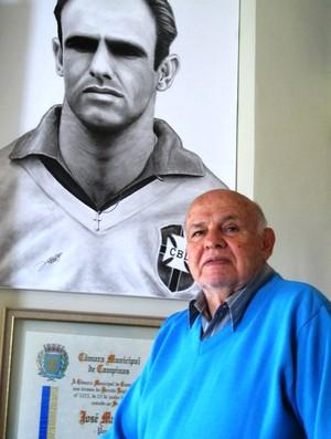 Pepe ex-jogador Santos (Foto: Lincoln Chaves / Globoesporte.com)