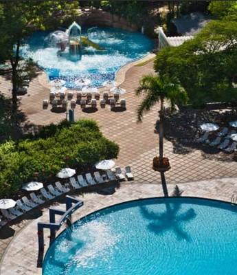 Hotel da Coreia do Sul em Foz do Iguaçu (Foto: Divulgação)
