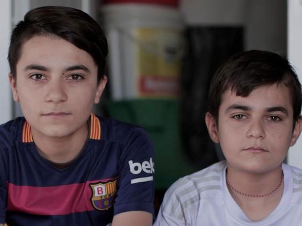 O exército de crianças do Estado Islâmico (Foto: DW/J. Andert)